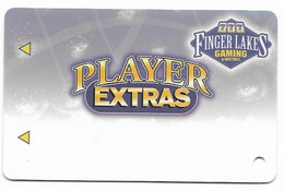 Finger Lakes Gaming, Farmington, NY,  U.S.A. Older Used Slot Or Player's Card, # Fingerlakes-3blank  BLANK CARD - Casino Cards