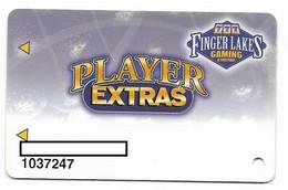 Finger Lakes Gaming, Farmington, NY,  U.S.A. Older Used Slot Or Player's Card, # Fingerlakes-1 - Casino Cards