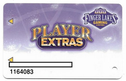 Finger Lakes Gaming, Farmington, NY,  U.S.A. Older Used Slot Or Player's Card, # Fingerlakes-1a - Casino Cards