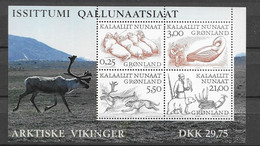 2000 MNH  Greenland, Block 18 Postfris** - Bloques