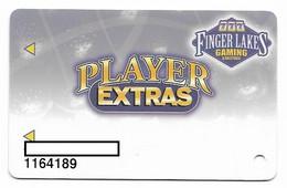 Finger Lakes Gaming, Farmington, NY,  U.S.A. Older Used Slot Or Player's Card, # Fingerlakes-2 - Casino Cards