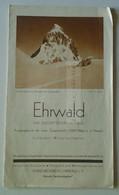 E0260  Tourism Brochure  EHRWALD  - Das Zugspitzdorf  In  TIROL  Österreich Ca 1930's  Zugspitzbahn - Europe