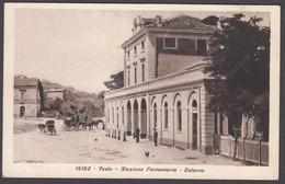Italia  -  VASTO Stazione Ferroviaria - Esterno - Chieti