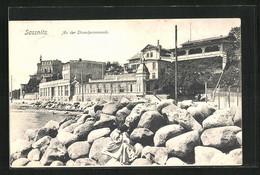 AK Sassnitz, An Der Strandpromenade - Sassnitz
