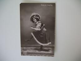 CPA Espagne Artiste  - Tajeta Fotografica -  Artista  Amalia Isaura  - Postkarte Spanien - Otros