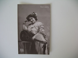 CPA Espagne Artiste  - Tajeta Fotografica -  Artista  Ursula Lopez   - Postkarte Spanien - Otros