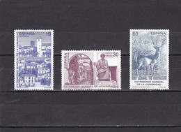 España Nº 3453 Al 3455 - 1991-00 Nuevos & Fijasellos