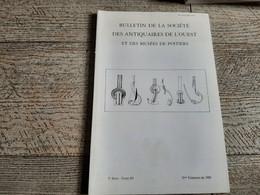 Sauvetage Dans Un Quartier Du Vicus Des Tours Mirandes Pigeonnier Et Tuileries De Lavoux Chaussée Saint Victor 1989 - Poitou-Charentes