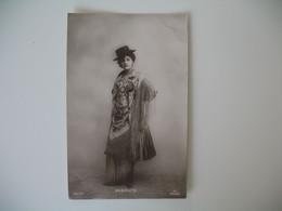 CPA Espagne Artiste  - Tajeta Fotografica -  Artista  Angelita  - Postkarte Spanien - Otros