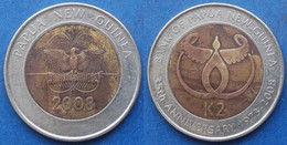 PAPUA NEW GUINEA - 2 Kina 2008 KM# 51 Independent (1975) - Edelweiss Coins - Papua New Guinea