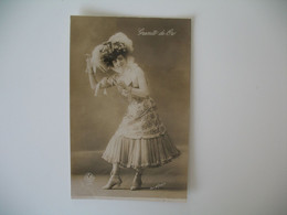 CPA Espagne Artiste  - Tajeta Fotografica -  Artista   Granito De Oro  - Postkarte Spanien - Otros