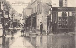 45 /  Montargis :  Rue Girodet Et Gambette  : Inondations 1906  (trace Plis) ///  Ref. Juin 21  /// N° 16.049 - Montargis