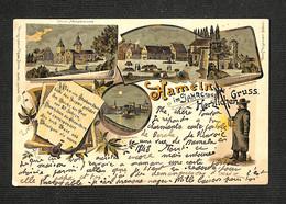 2.10€ : ALL - HAMELN - Hameln Im Jahre 1848 - Gruss Herzlichen - 1899 - RARE - Non Classés