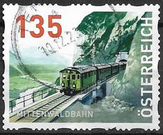 2018 Austria Österreich Dispensermarke Mi.15 Used   Mittenwaldbahn - 2011-... Used