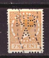 Nederland / Niederlande / Pays Bas NVPH Roltand 8 Used (1925) - Heftchen Und Rollen