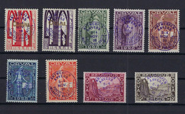 N°266A/266K Orval MH * POSTFRIS MET SCHARNIER COB € 750,00 Mix - Unused Stamps