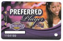Finger Lakes Gaming, Farmington, NY,  U.S.A. Older Used Slot Or Player's Card, # Fingerlakes-6 - Casino Cards