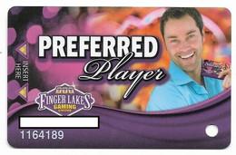 Finger Lakes Gaming, Farmington, NY,  U.S.A. Older Used Slot Or Player's Card, # Fingerlakes-8 - Casino Cards