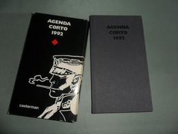 CORTO MALTESE - HUGO PRATT  /  Agenda 1992 Couverture Cartonnée / Dimension 9,5X16,5 Cm. / CASTERMAN - Agende & Calendari