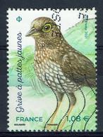 France, Oiseau, Grive à Pattes Jaunes (Turdus Lherminieri), 2021, Obl, TB - Used Stamps