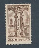 FRANCE - N°302 NEUF** SANS CHARNIERE AVEC GOMME NON ORIGINALE (GNO) - COTE : 32€ - 1935 - Ongebruikt