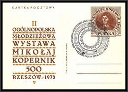 68433 Copernicus Copernic Kopernic 24/9/1972 Pologne Polska Espace Space Entier Stationery - Europa