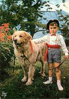 Animaux - Chiens - Chien Des Pyrénées - Folklore Pyrénéen - L'Enfant Au Chien - CPM - Voir Scans Recto-Verso - Hunde