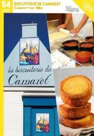 Finistère   Camaret Sur Mer  Biscuiterie De Camaret   Fiche Illustrée TBE - Otros