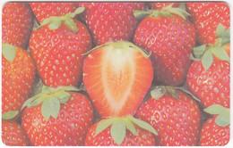 CZECH REP. D-654 Chip CeskyTelecom - Food, Fruit, Strawberry - Used - Tchéquie