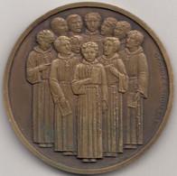 Médaille Manécanterie Des Petits Chanteurs à La Croix De Bois Par Georges Crouzat - Andere