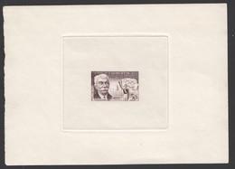 1956- De Coubertin #1088 Epreuve D'artiste - Künstlerentwürfe