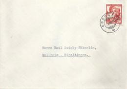 Brief  Oberaach - Müllheim Wigoltingen          1935 - Covers & Documents