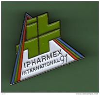 IPHAMEX INTERNATIONAL 91 *** BADGE ENTREE VISITEUR *** 2118 - Medici