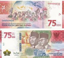 Indonesia - 75000 Rupiah 2020 UNC Lemberg-Zp - Indonésie