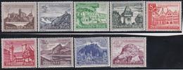 Deutsches Reich   .    Michel     .    730/738       .     *    ,     Ungebraucht  Mit Gummi - Unused Stamps
