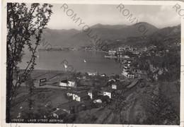 """CARTOLINA  LOVERE,BERGAMO,LOMBARDIA,LAGO D""""ISEO (SEBINO),BELLA ITALIA,STORIA,CULTURA,RELIGIONE,MEMORIA,VIAGGIATA 1955 - Bergamo"""