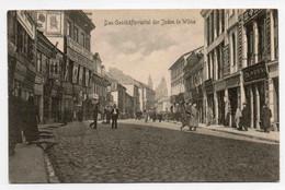 VILNIUS DAS GESCHÄTSVIERTEL DER JUDEN IN WILNA - Lituania