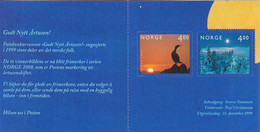 1999 Norway New Millennium Booklet Birds Oiseaux Complete Booklet MNH - Fisica