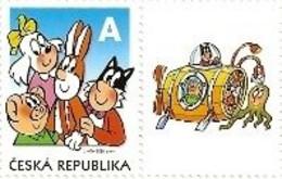 ** 641 Czech Republic Ctyrlistek (Four Leaf Clover) Cartoon 2010 Octopus - Bandes Dessinées