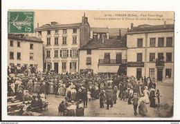 Rhône Tarare Place Victor Hugo Un Concert Donné Par La Troupe (grande Manoeuvres De 1909) - Tarare