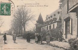 *** 15  ***  YTRAC  Le Château Et L'entrée Du Village - TTBE - Otros Municipios
