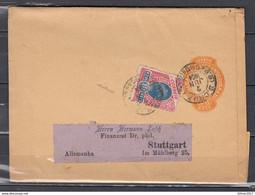 Correio Republica Robestados UnidosdoBrazil Naar Stuttgart - Entiers Postaux