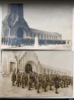 2x Foto Ak Ossuarium Van Douaumont Verdun - Oorlogsbegraafplaatsen