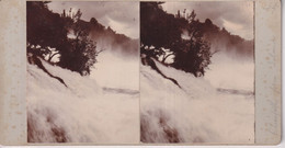 Rhinefalls  GERMANY DEUTSCHLAND  +-18*9CM ESTEREOSCOPICA STEREOSCOPIC Francestereo - Fotos Estereoscópicas