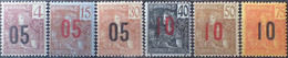R2740/750 - 1912 - COLONIES FR. - INDOCHINE - SERIE COMPLETE - N°59 à 64 NEUFS* - Nuevos