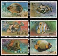 Philippinen 1978 - Mi-Nr. 1256-1261 ** - MNH - Fische / Fish - Philippinen