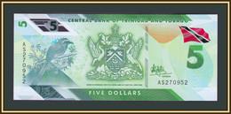 Trinidad & Tobago  5 Dollars 2020 (2021) P-61 UNC New! - Trinité & Tobago