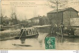 HR 85 FONTENAY-LE-COMTE éditions. Les Huttes Du Marais Vendéen Inondées Vers 1911 - Fontenay Le Comte