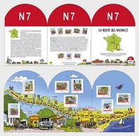 France Frankreich  MNH ** 2021 National 7 North - Neufs