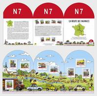 France Frankreich  MNH ** 2021 National 7 South - Neufs